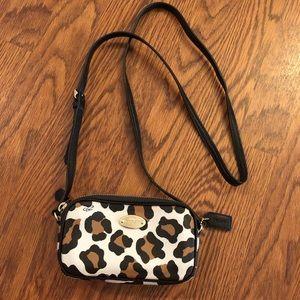 Coach | Ocelot Leopard Mini Crossbody Pouch